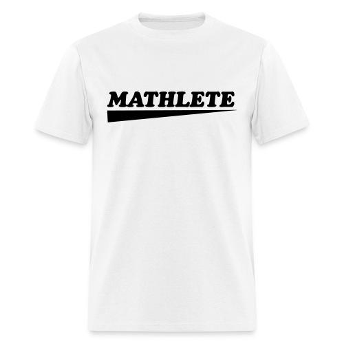 Mathlete (M) - Men's T-Shirt
