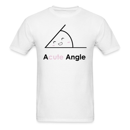 Acute angle - Men's T-Shirt