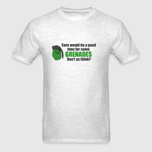 jayne grenades - Men's T-Shirt