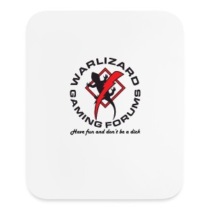 Have fun and don't be a dick. - Mouse pad Vertical