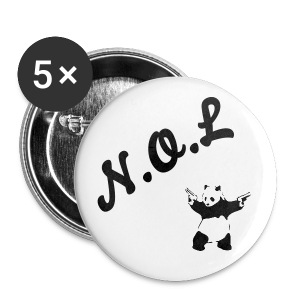 No Other Love Panda badges. - Small Buttons