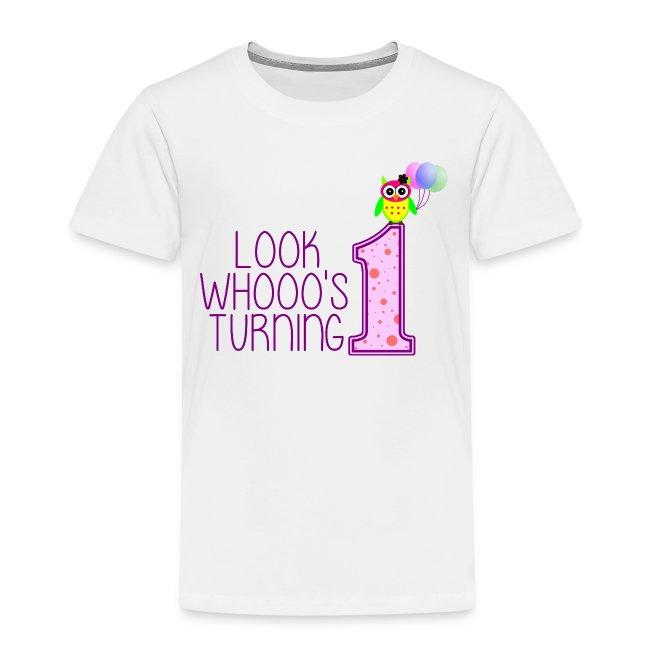 Kids 1st Birthday Shirt