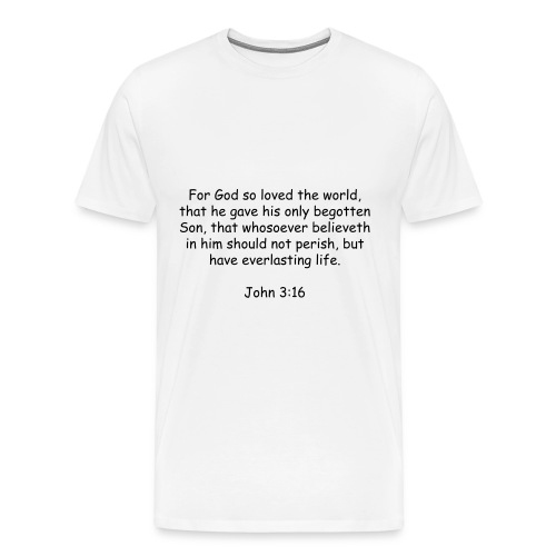 What God did for us  - Men's Premium T-Shirt