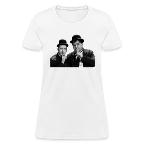 Never miss a good chance to shut up. - Women's T-Shirt