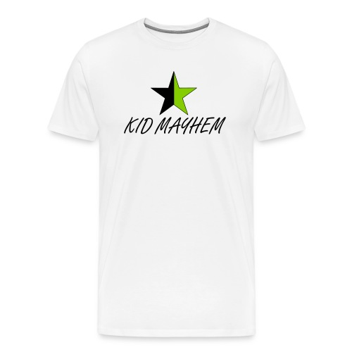 Kid Mayhem Star of Anarchy Tee - Men's Premium T-Shirt