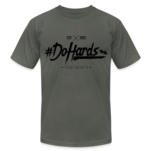 #dohard_ready - Men's T-Shirt by American Apparel