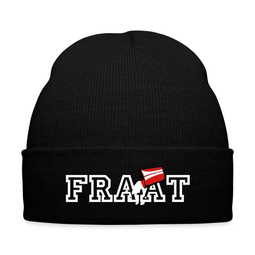 FRAAT Skully - Knit Cap with Cuff Print