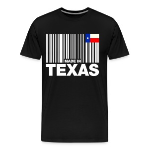 made in texas T-Shirts - Men's Premium T-Shirt
