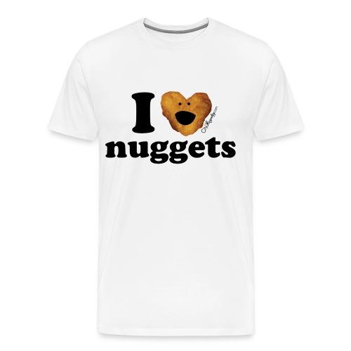 I love nuggets - Men's Premium T-Shirt