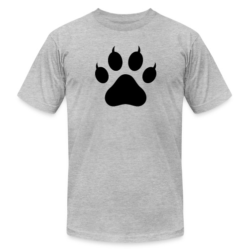 Tiger Paw Silhouette - Men's Fine Jersey T-Shirt