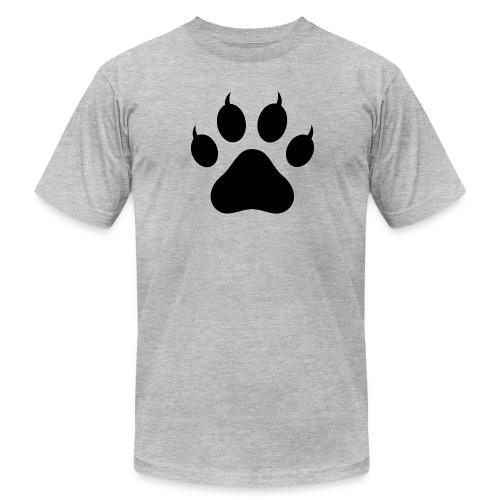 Tiger Paw Silhouette - Men's  Jersey T-Shirt