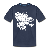 Kids' Shirts ~ Kids' Premium T-Shirt ~ Banny Rooster Kid's Shirt