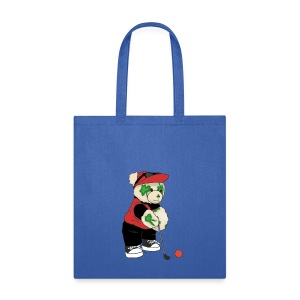 Shamrock Bear Tote Bag - Tote Bag