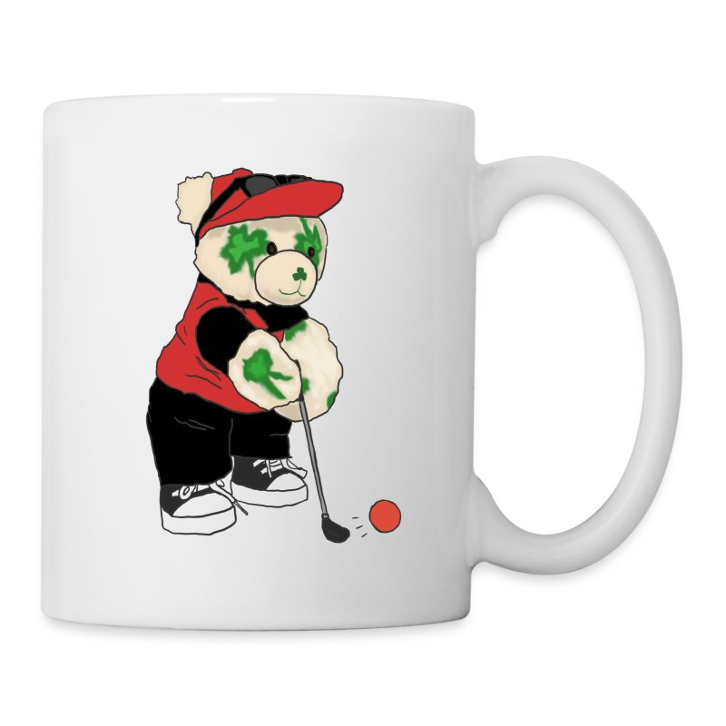 Shamrock Bear Mug - Coffee/Tea Mug