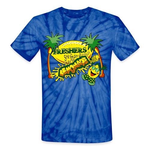 Freshers Tie Dye - LOVE EVERY DROP!  - Unisex Tie Dye T-Shirt