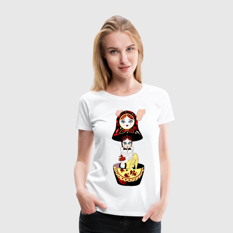 Surprise Russian Doll Women's T-Shirts - Women's Premium T-Shirt