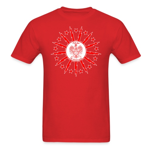 Dyngus Day - Red - Men's T-Shirt