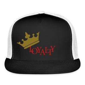 gold loyalty hat  - Trucker Cap