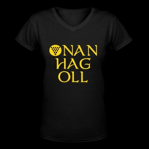 One And All / Onan Hag Oll - Women's V-Neck T-Shirt