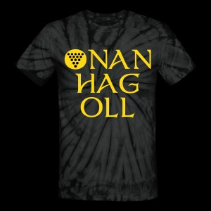 One And All / Onan Hag Oll - Unisex Tie Dye T-Shirt
