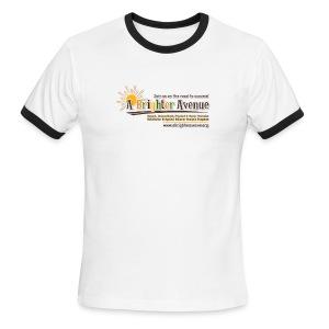 Men's Ringer T-Shirt by American Apparel - Men's Ringer T-Shirt
