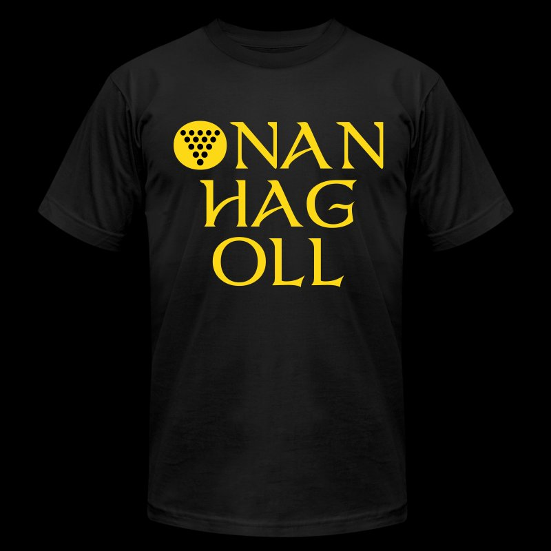 One And All / Onan Hag Oll - Men's T-Shirt by American Apparel