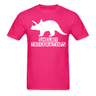 T-Shirts ~ Men's T-Shirt ~ Shelby Triceratops (Guys)