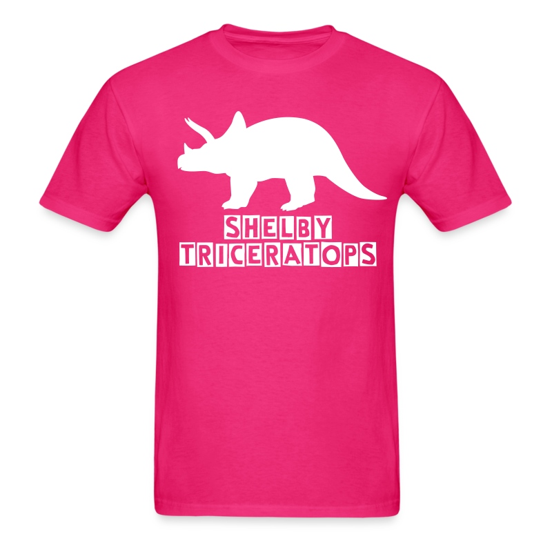 Shelby Triceratops (Guys) - Men's T-Shirt
