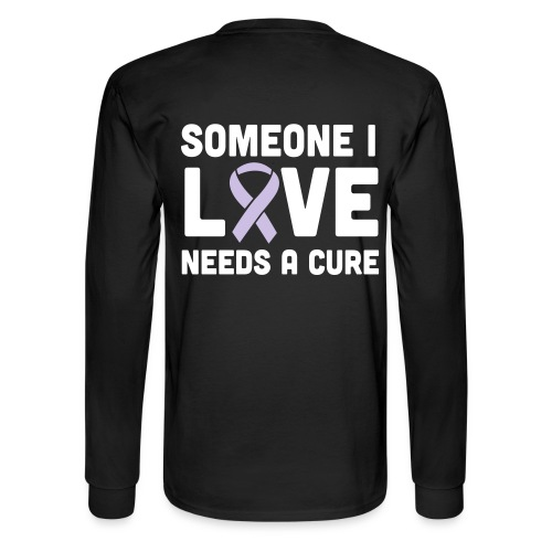 Someone I Love - Men's Long Sleeve T-Shirt