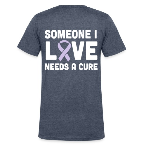 Someone I Love - Men's V-Neck T-Shirt by Canvas