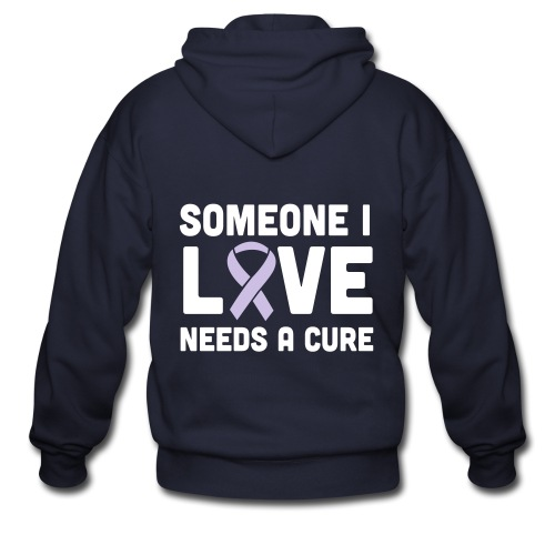 Someone I Love - Men's Zip Hoodie