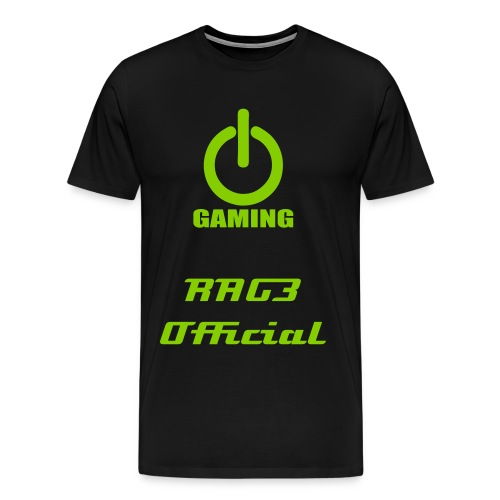 RAG3 Official Power Gaming Shirt - Men's Premium T-Shirt