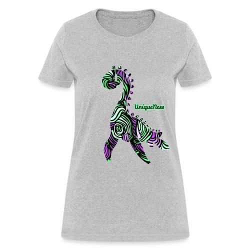 Untamed - Violet / Mint - Women's T-Shirt