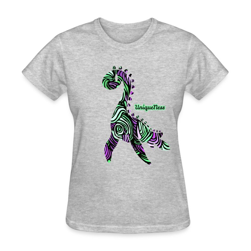 Untamed - Violet / Mint - Women's T-Shirt