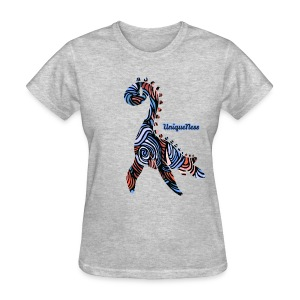 Untamed - Royal / Rose - Women's T-Shirt
