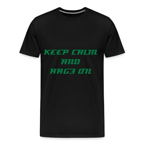 RAG3 Official Keep Calm Tee - Men's Premium T-Shirt
