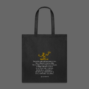 It Couldn't Be Done - Tote Bag