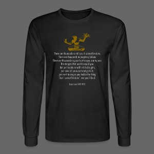 It Couldn't Be Done - Men's Long Sleeve T-Shirt