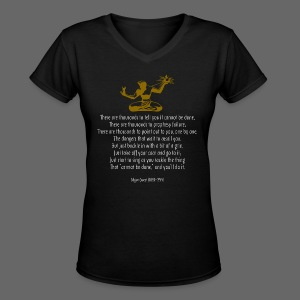 It Couldn't Be Done - Women's V-Neck T-Shirt