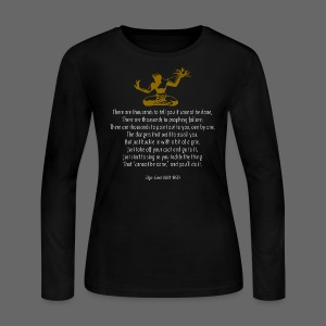It Couldn't Be Done - Women's Long Sleeve Jersey T-Shirt