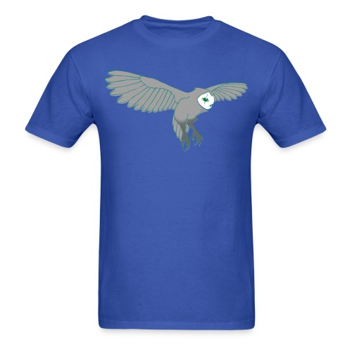 Flying Junk Owl Men's Shirt - Men's T-Shirt