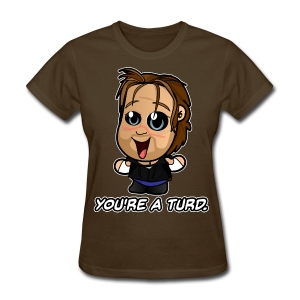 HappyScary Turd (Female) - Women's T-Shirt
