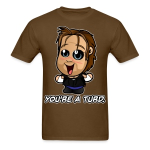 HappyScary Turd (Male) - Men's T-Shirt