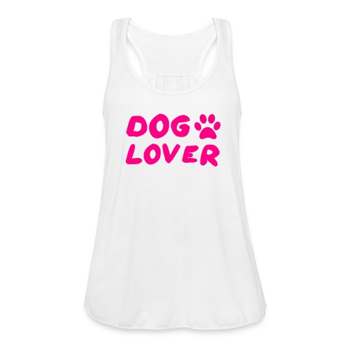 Dog Lover - Women's Flowy Tank Top by Bella