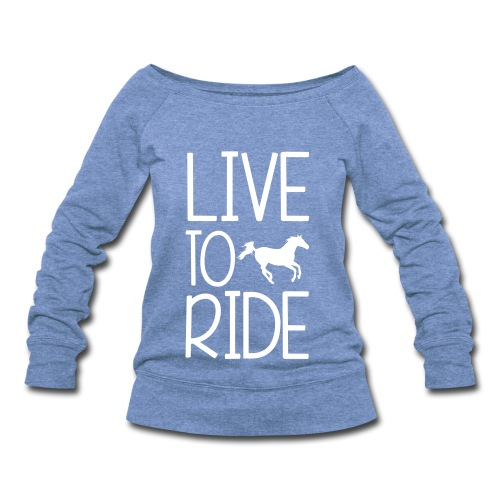 Horse - Women's Wideneck Sweatshirt