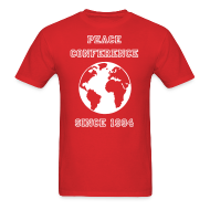 T-Shirts ~ Men's T-Shirt ~ Peace Conference Tee