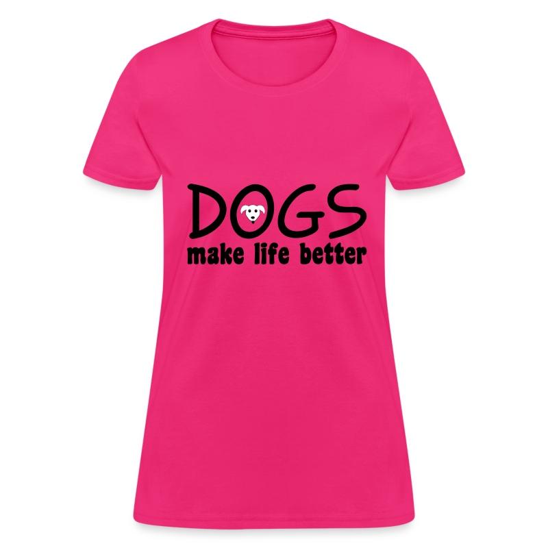Dogs - Women's T-Shirt