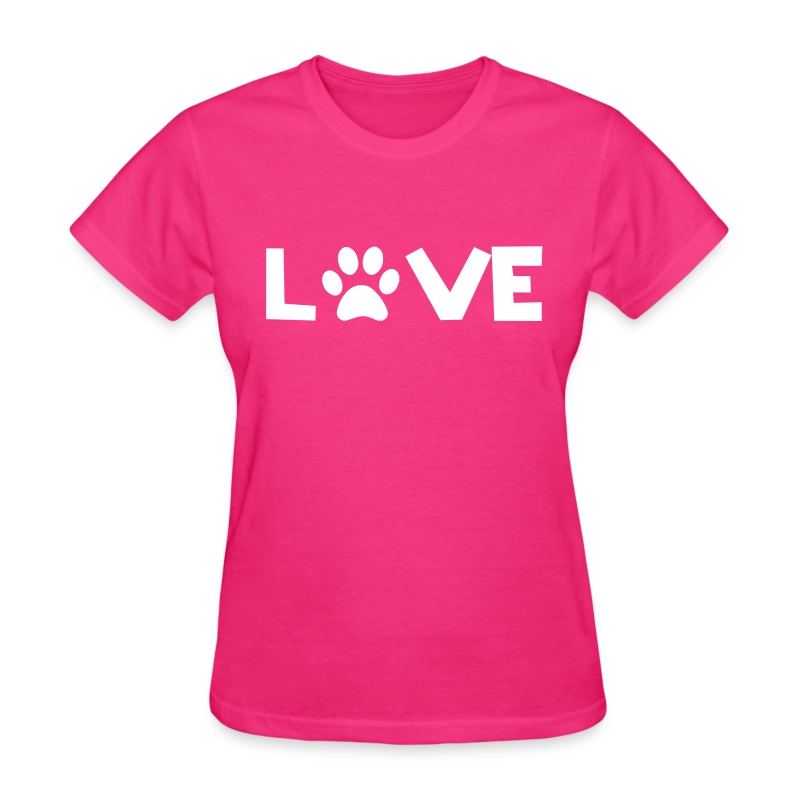 Love Dogs - Women's T-Shirt