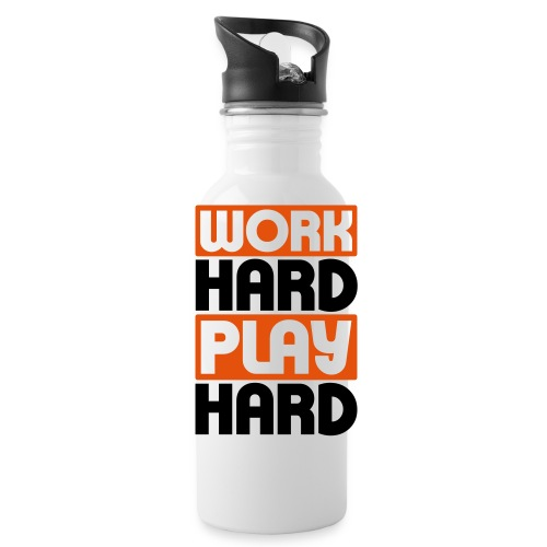 Work Hard  - Water Bottle
