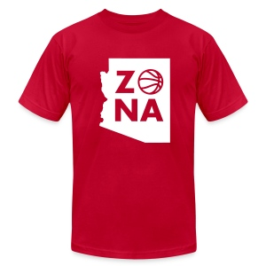 Zona Basketball - Men's Fine Jersey T-Shirt
